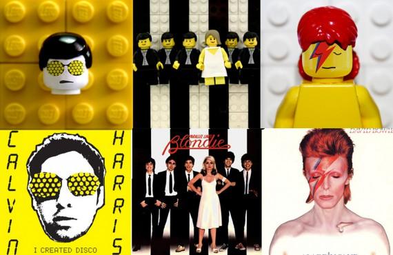 Dischi cult in versione LEGO: Brick the LP
