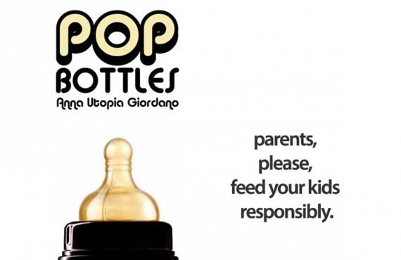 Bottiglie di alcolici formato biberon: POP bottles