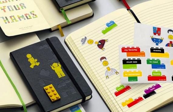 Moleskine presenta la sua nuova edizione limitata: LEGO!
