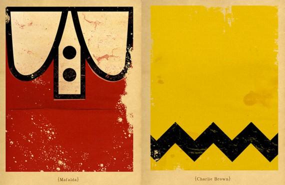 Minimalismo e cultura pop nelle illustrazioni di Patrìcia Pòvoa