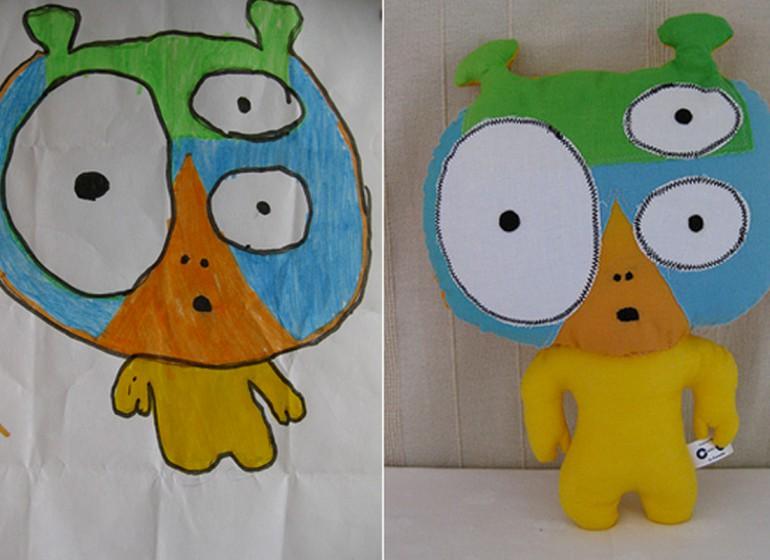 Child's Own Studio: i disegni dei bambini diventano peluches