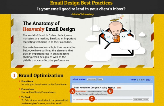 Email marketing: 7 regole per un design efficace