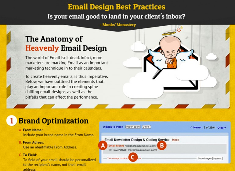 Email marketing: 7 regole per un design efficace
