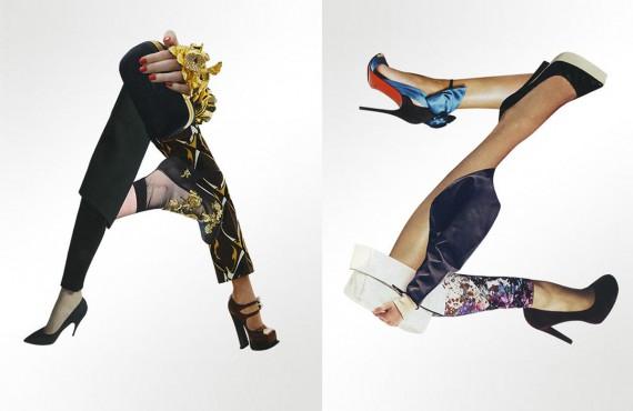 Tipografia e moda si incontrano nell'alfabeto Fashion Font