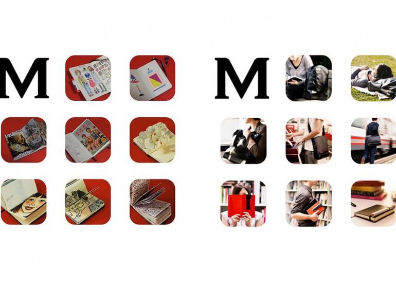 Moleskine: ecco il restyling del logo in un nuovo monogramma
