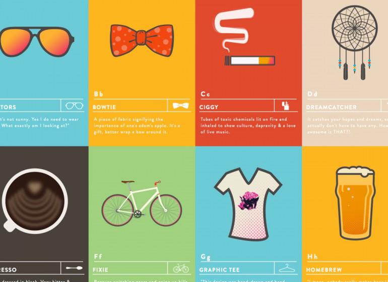 The Hipster Alphabet: l'identikit del vero hipster dalla A alla Z