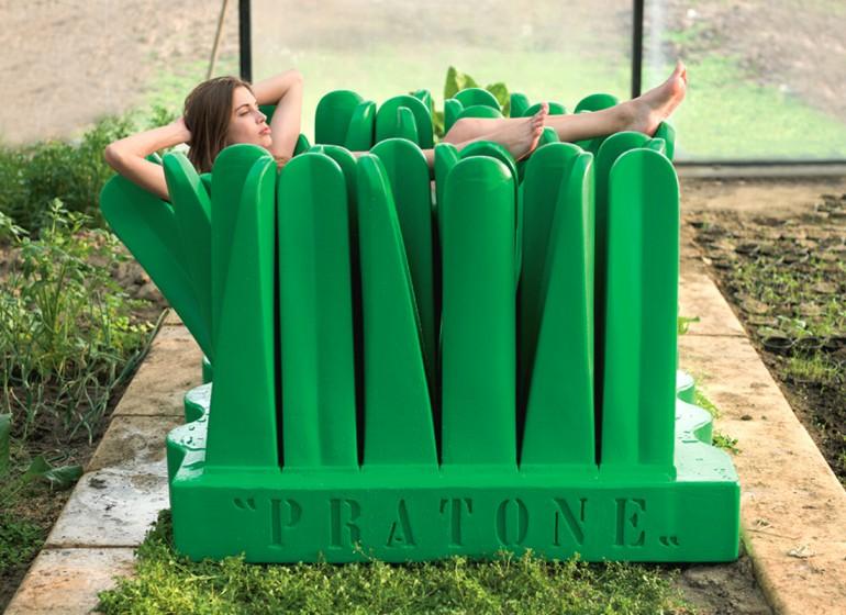 Pratone: la non-conventional chair torna in edizione limitata