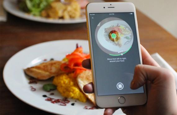 Con 3DAround app la food photography si gusta a 360°