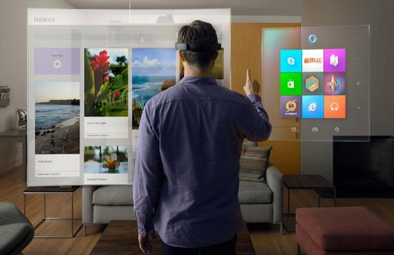 Microsoft HoloLens: tocca con mano il digitale con gli ologrammi in HD