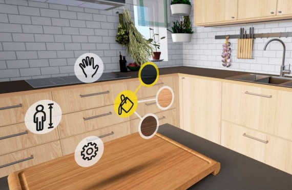 IKEA ritorna al futuro: il tavolo si fa smart nella cucina del 2025