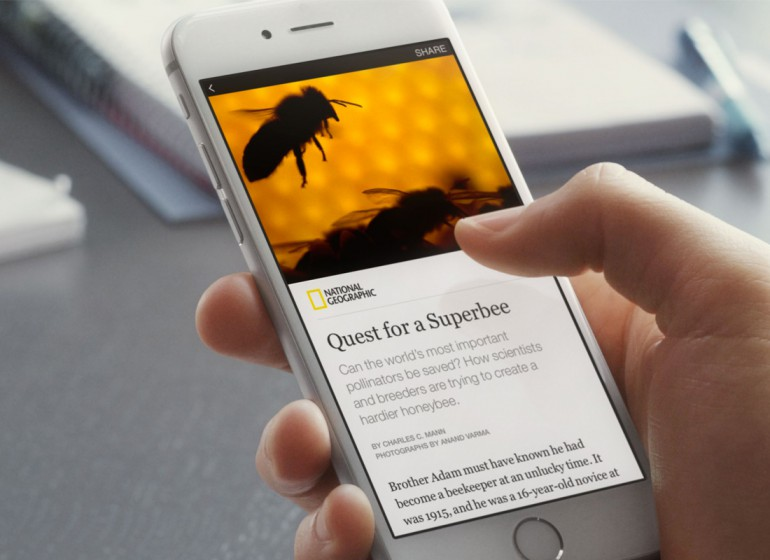 Con Instant Articles leggi gli articoli direttamente dentro Facebook