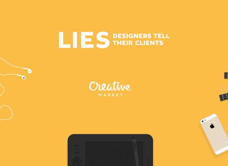 10 bugie che i graphic designer raccontano ai loro clienti