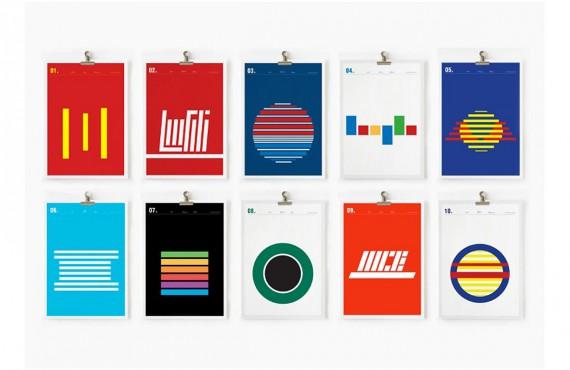 Loghi di brand in chiave minimal: tornano i cerchi di Nick Barclay