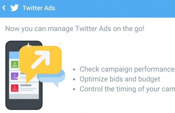 Twitter: con il mobile ads manager gestisci le campagne in mobilità
