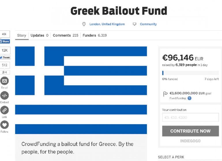 Del crowdfunding e sue implicazioni future: il caso Greek Bailout