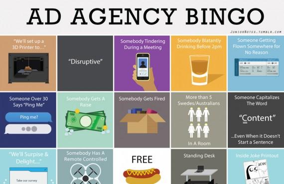 Ad Agency Bingo: il gioco su misura di agenzia pubblicitaria