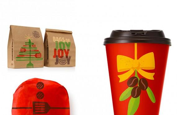 Burger King: il packaging natalizio inaugura il countdown al Natale