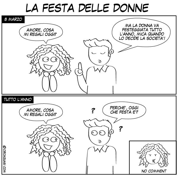La festa delle donne - fumetto