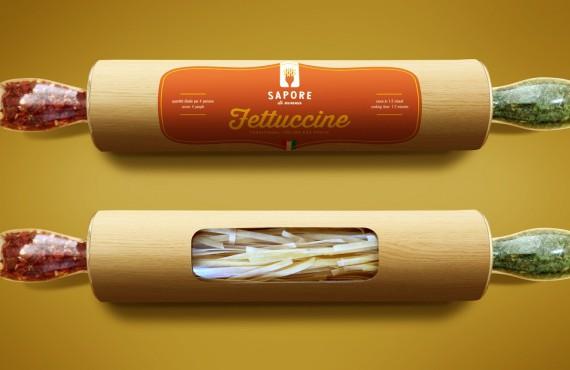 Dimentica i capelli, ecco il packaging della pasta davvero creativo!