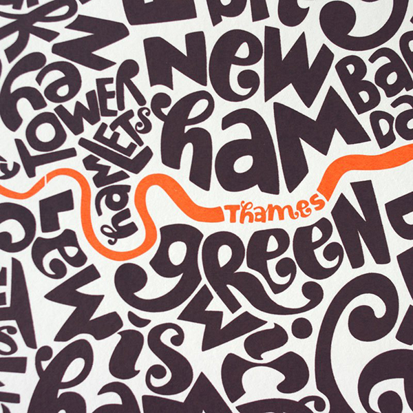 typography map