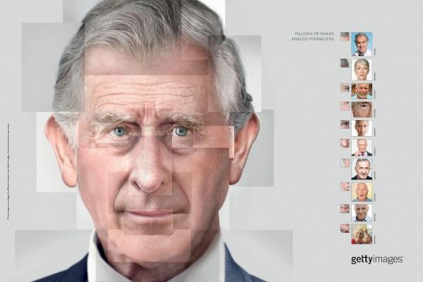 L'ultima campagna di Getty Images ricrea i volti famosi con foto stock