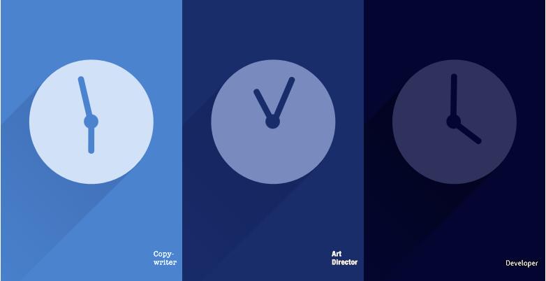 Copywriter VS Art Director VS Sviluppatore: a ognuno la sua illustrazione!