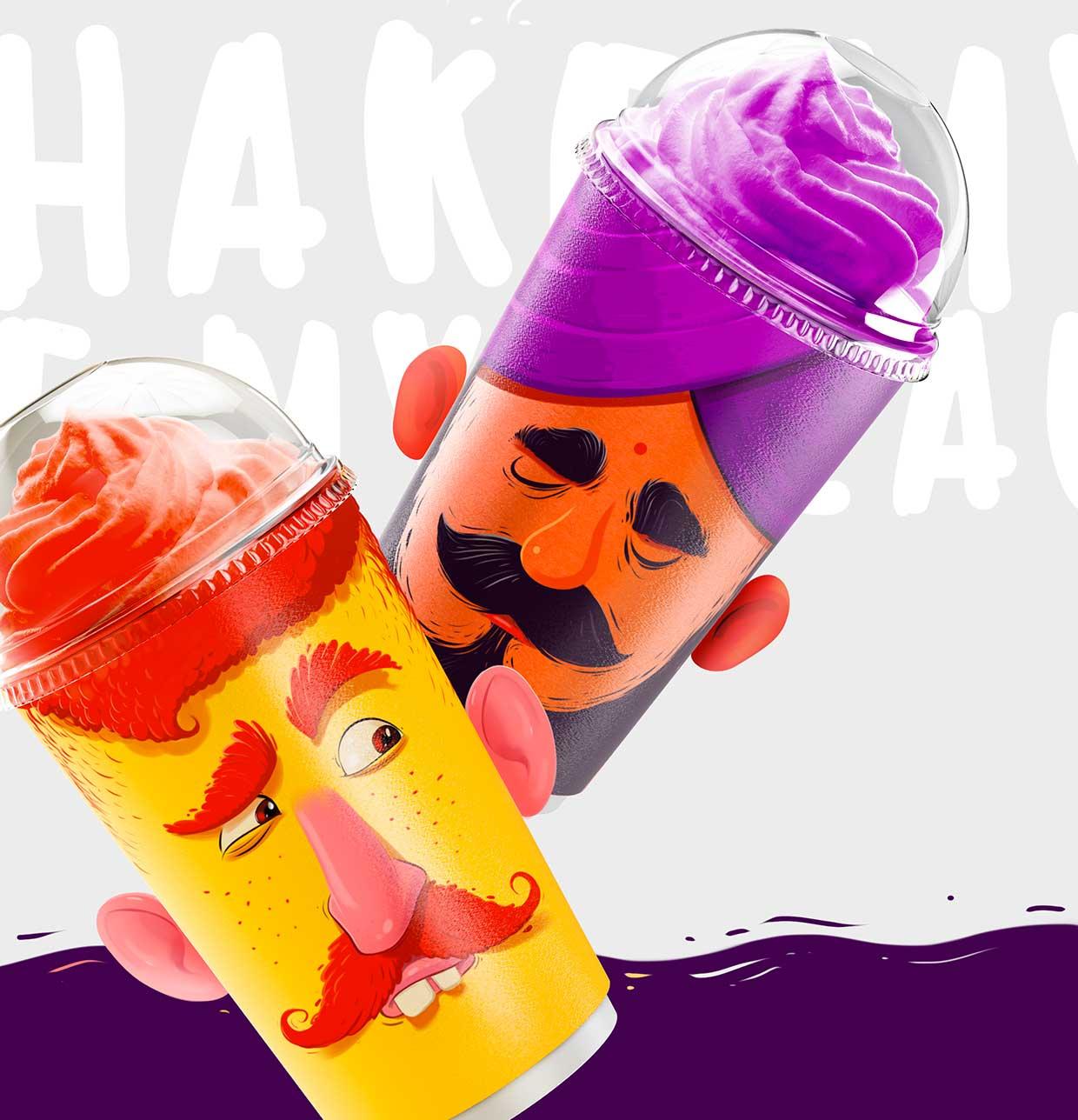 Shake my head: quando il packaging è fuori di testa