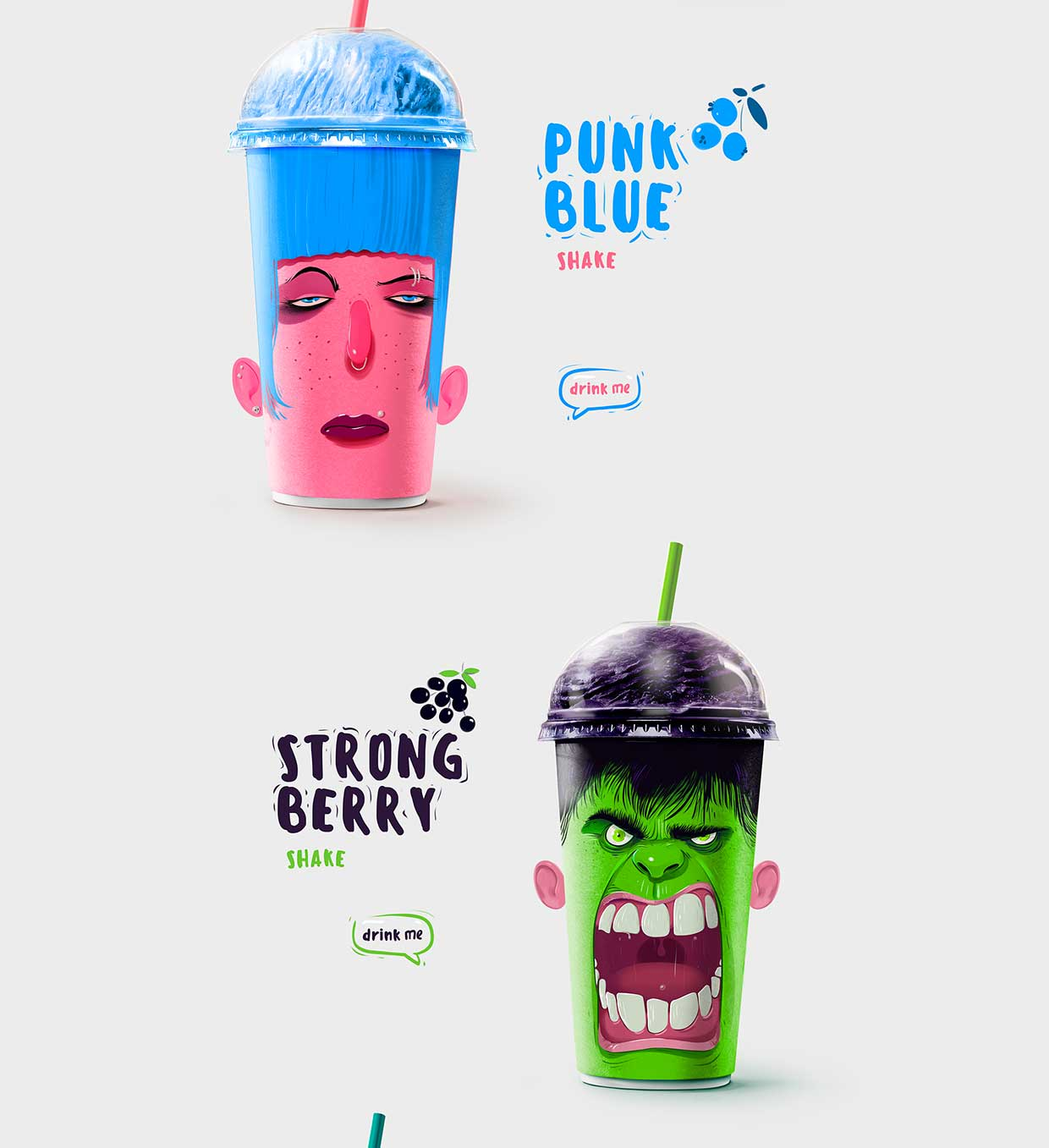 Shake my head: quando il packaging è fuori di testa