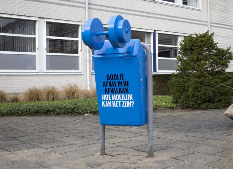 La campagna dal sapore guerrilla per la raccolta dei rifiuti