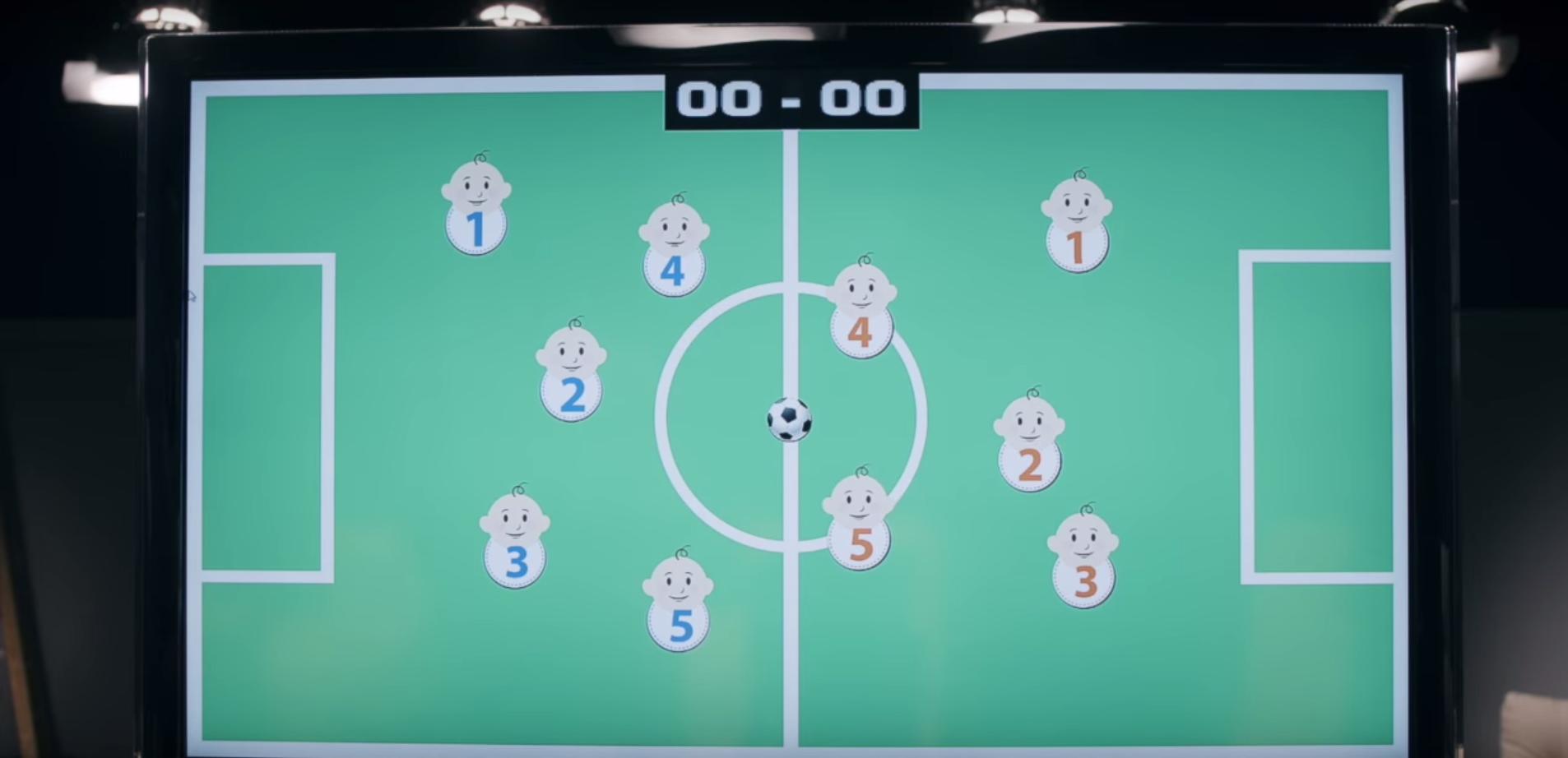 Ecco la prima partita di calcio giocata da dentro il pancione!
