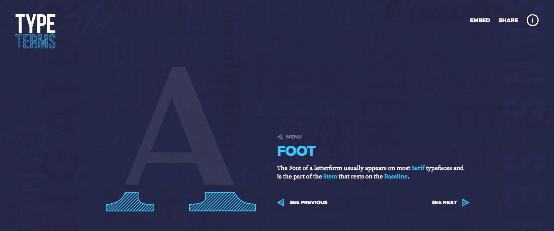 Impara le basi della typography in pochi click con Type Terms
