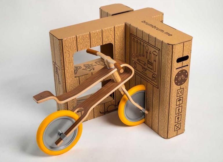 Brum Box: il packaging della Brum Brum che diventa un'eco-officina