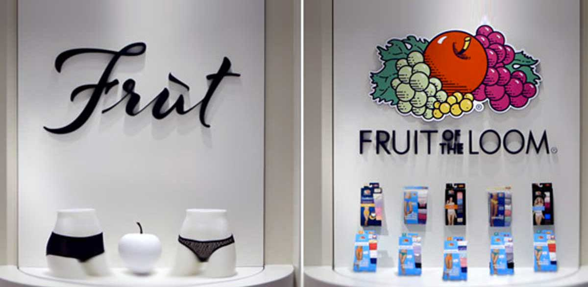 Fruit of the Loom: può un fake store cambiare l'immagine di un brand?