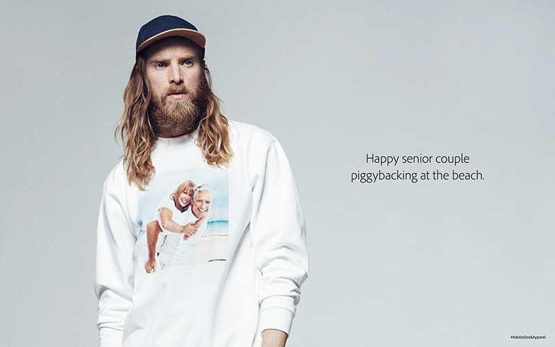 Adobe Stock Apparel: la moda ironica incontra le foto stock