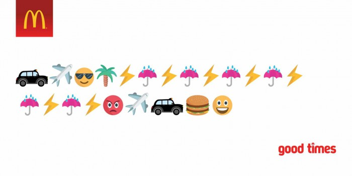 10 campagne pubblicitarie che usano le emoji nei propri visual