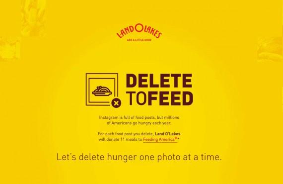 Cancella una foto di cibo da Instagram e dona 11 pasti ai bisognosi