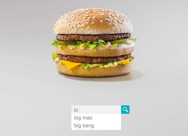 McDonald's e l'uso creativo della barra di ricerca nell'ultima campagna
