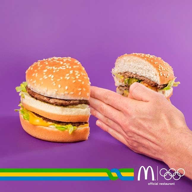 Mc Donald's official restaurant delle Olimpiadi 2016: ecco la campagna