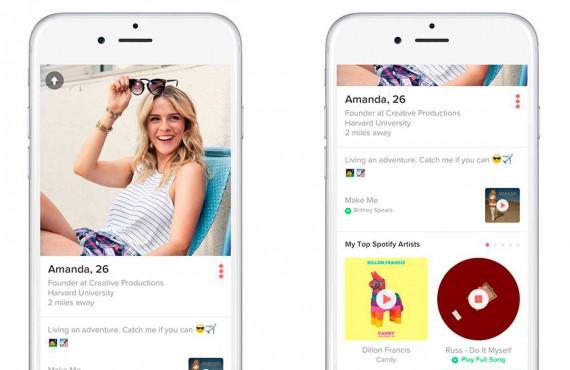 Tinder e Spotify insieme per trovare l'amore grazie alla musica