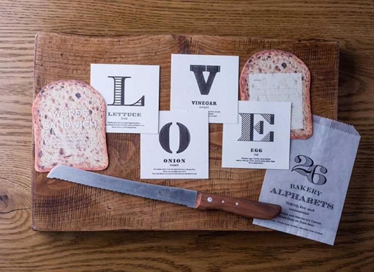 Words Sandwich: il messaggio che componi farcendolo come un panino