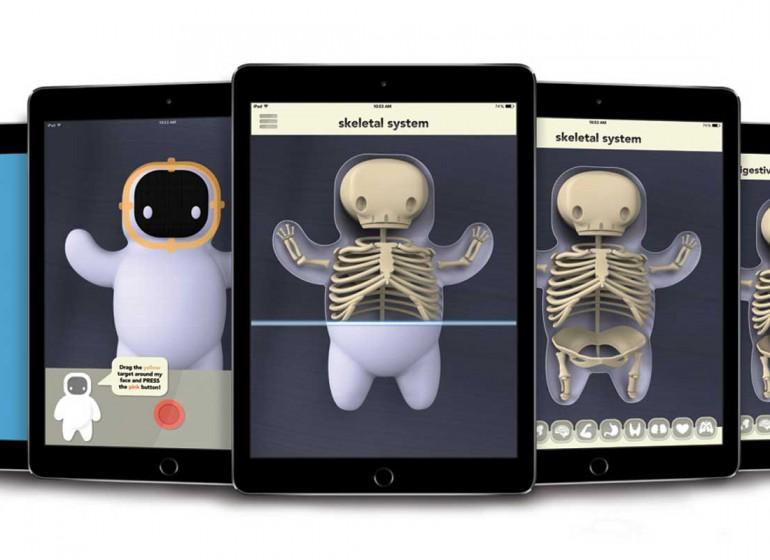 Il giocattolo che spiega il corpo umano grazie alla realtà aumentata