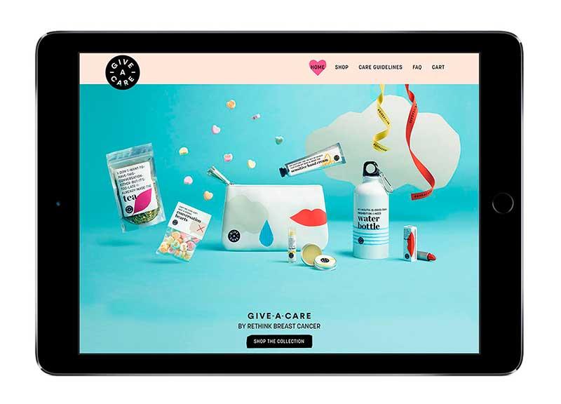 Give a care: i packaging onesti per le donne malate di tumore al seno