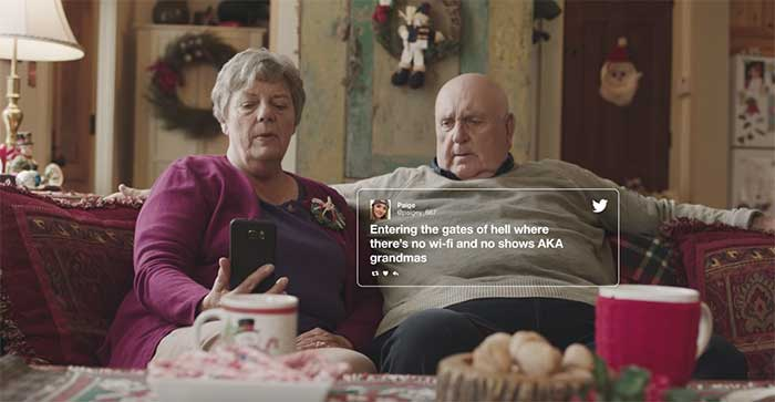 Per Natale Xfinity trasforma casa dei nonni in un paradiso digitale