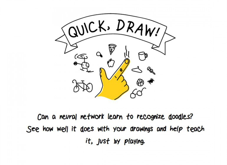 Quick, Draw!: l'IA di Google che indovina i disegni grazie al machine learning