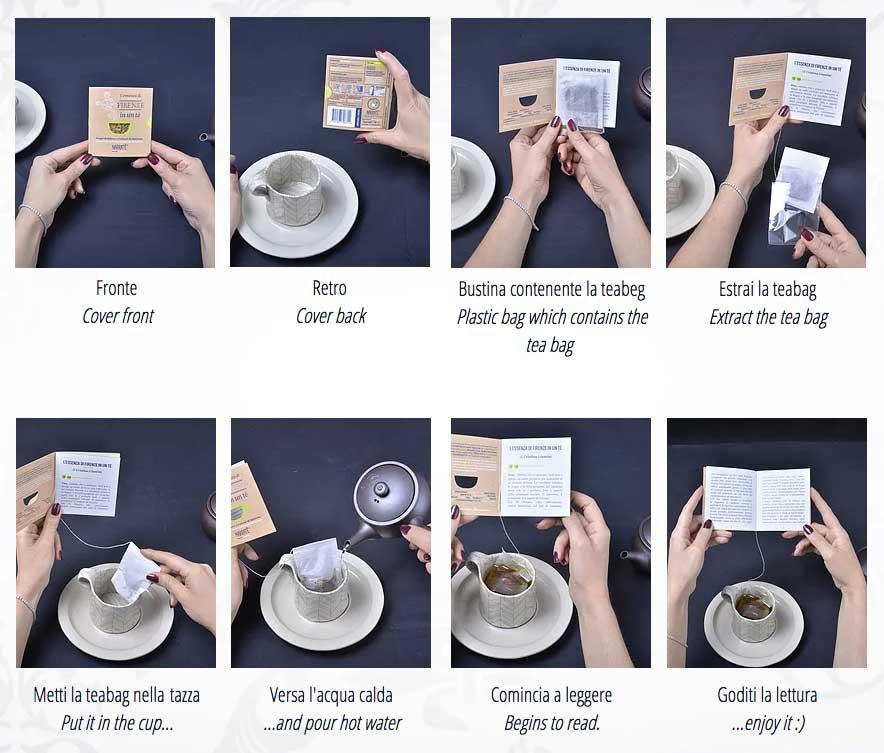 Narratè: mini-letture d'autore che durano il tempo di un tè