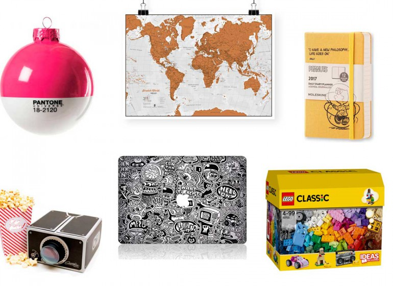 10 regali di Natale perfetti per un creativo (e non solo)