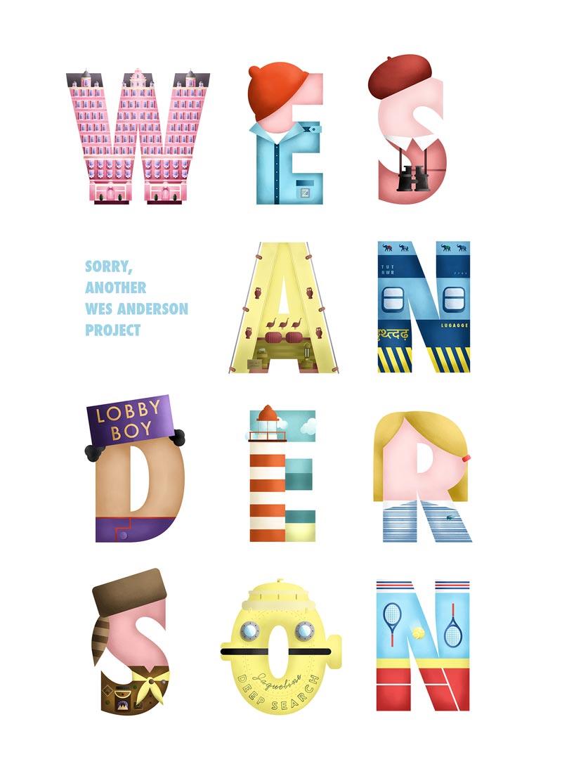 Wes Anderson Type: il font tipografico ispirato ai film del regista