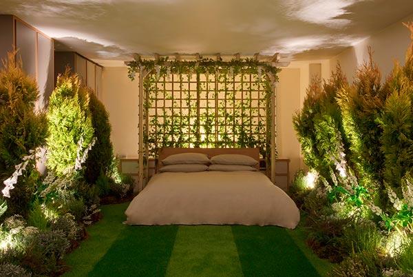 Airbnb e Pantone insieme per l'appartamento a tema Greenery a Londra