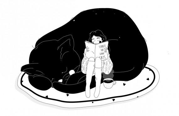 Intervista a Susanna Zuzy Gentili, l'illustratrice sognante tra stelle, accessori e gatti giganti