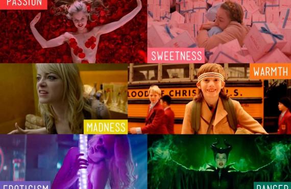 La psicologia del colore nel cinema: schemi e palette nei film